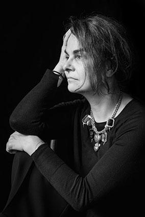 Portrait of the artist by Sergji Talochko.
