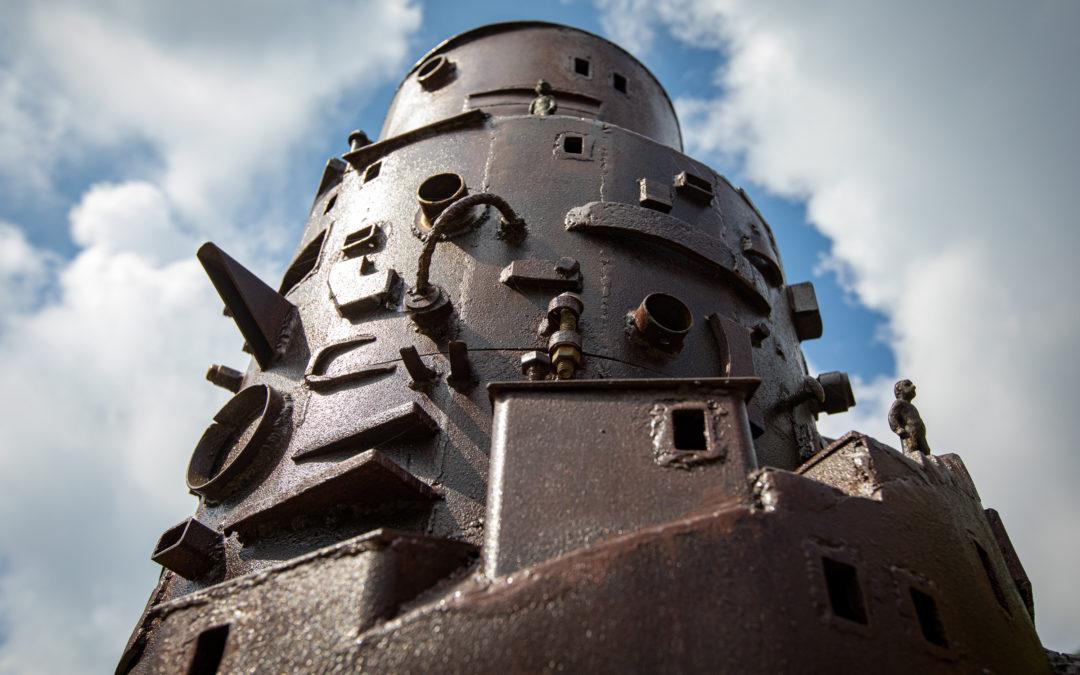 Steampunk Babylon by Charles Pilkey