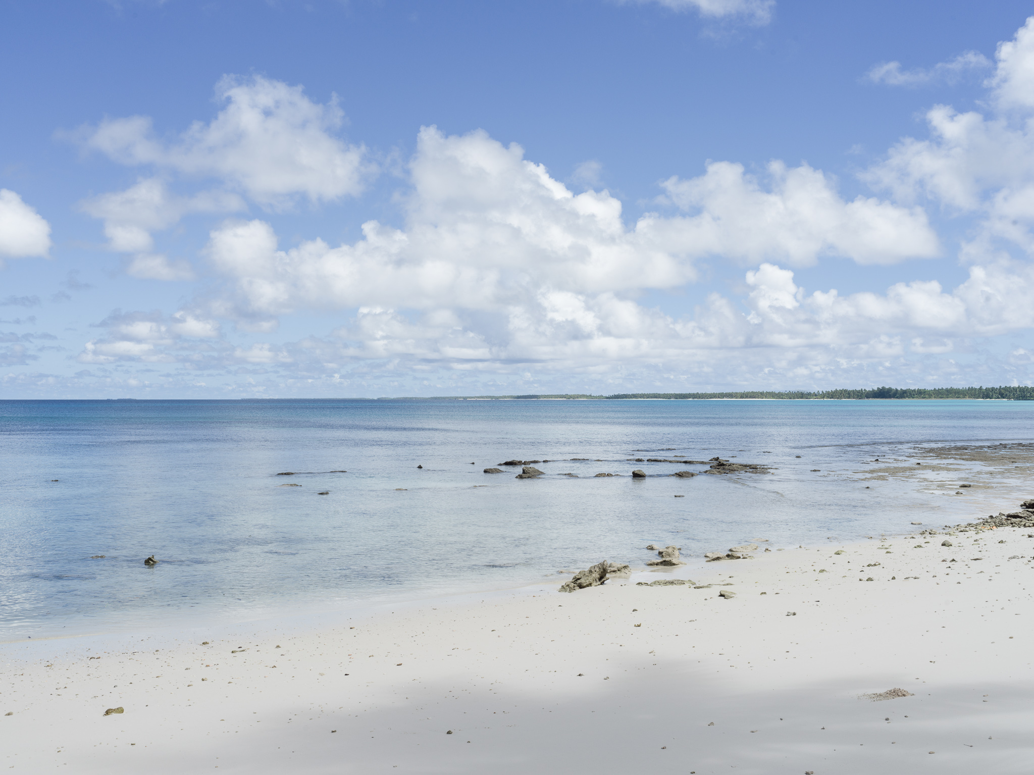 American bomb crater on reef, Wotje Island, Wotje Atoll, Marshall Islands_Matthew Arnold