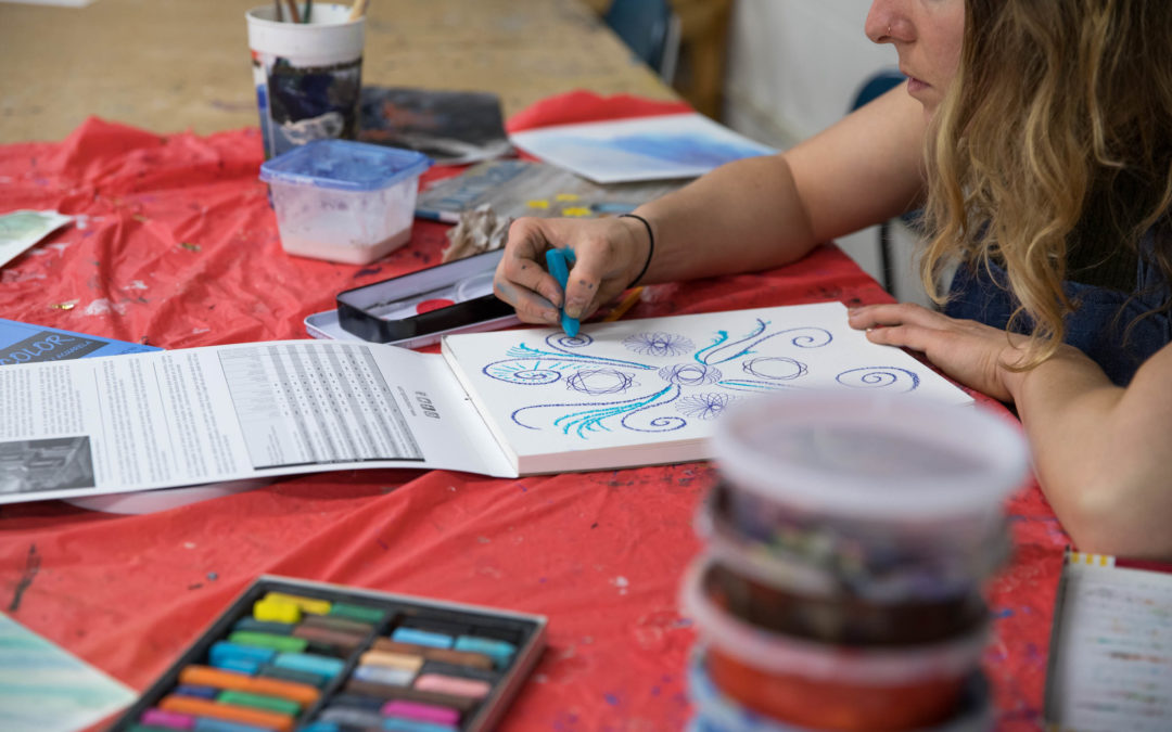 Workshop: Virtual Open Studio / Visual Journaling