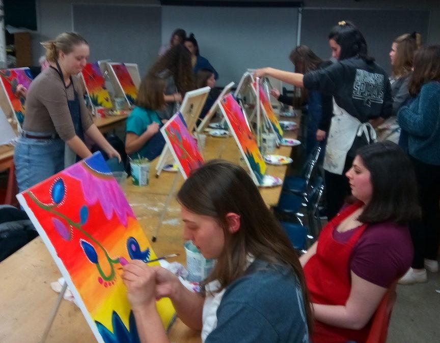Workshop: Virtual Paint Night: APP Students