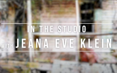 In the Studio with Jeana Eve Klein