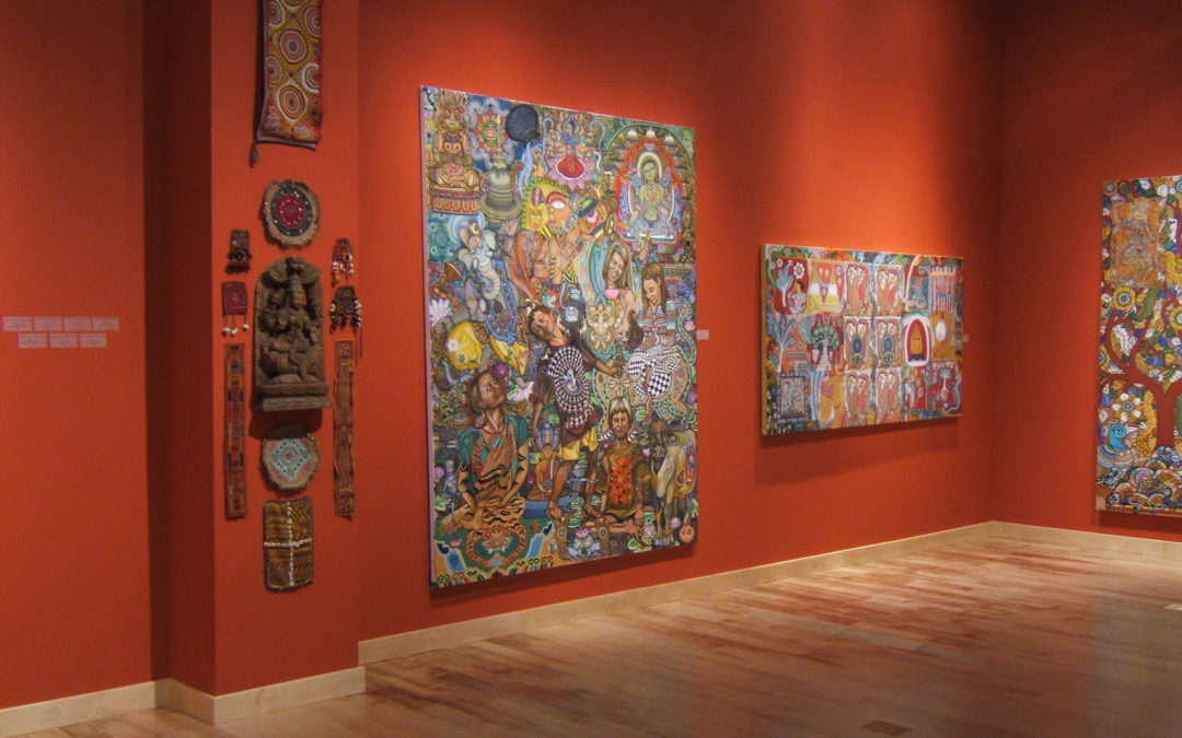 A Pilgrimage of Images: Paintings by Jane Vance Siegle