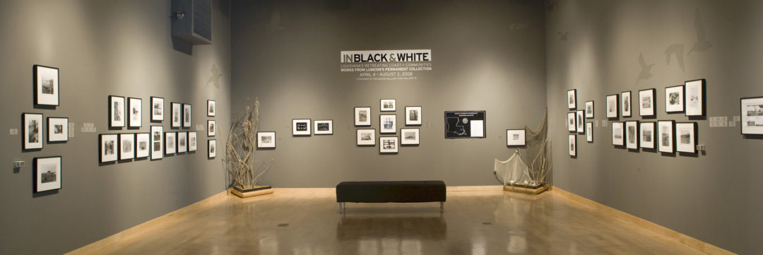 IN Black & White: Louisiana's Retreating Coast and Communities: Works from LUMCON's Permanent Collection