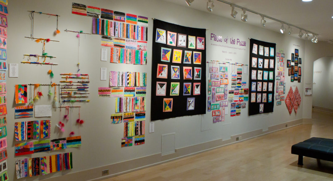 Pieces of the Puzzle: An exhibition of the Educational Outreach Program of TCVA