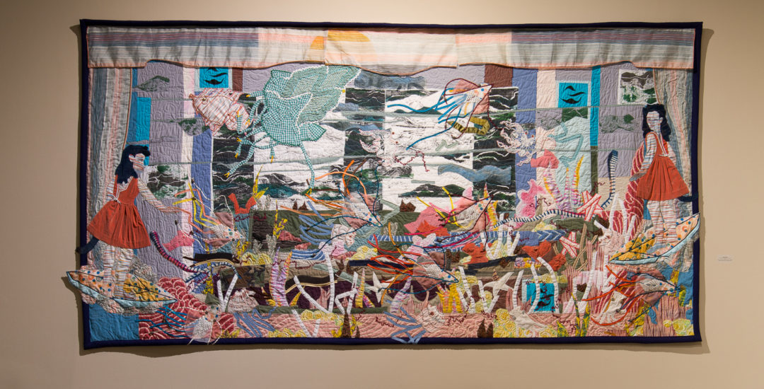 A Thousand Steps, A Thousand Stitches: Figurative Quilts by Susan Sharpe