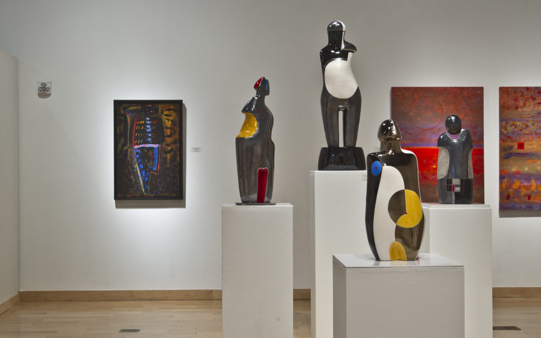 Standing Still…in the Abstract: Sculpture, Paintings, and Drawings by Mary-Ann Prack