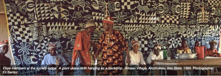 Negotiation of the Secret Society Cloth: An Exploration of Ukara