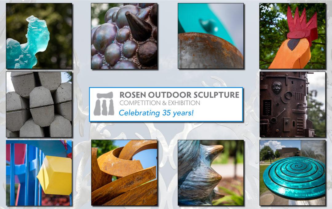 Rosen Sculpture Walk with the Juror
