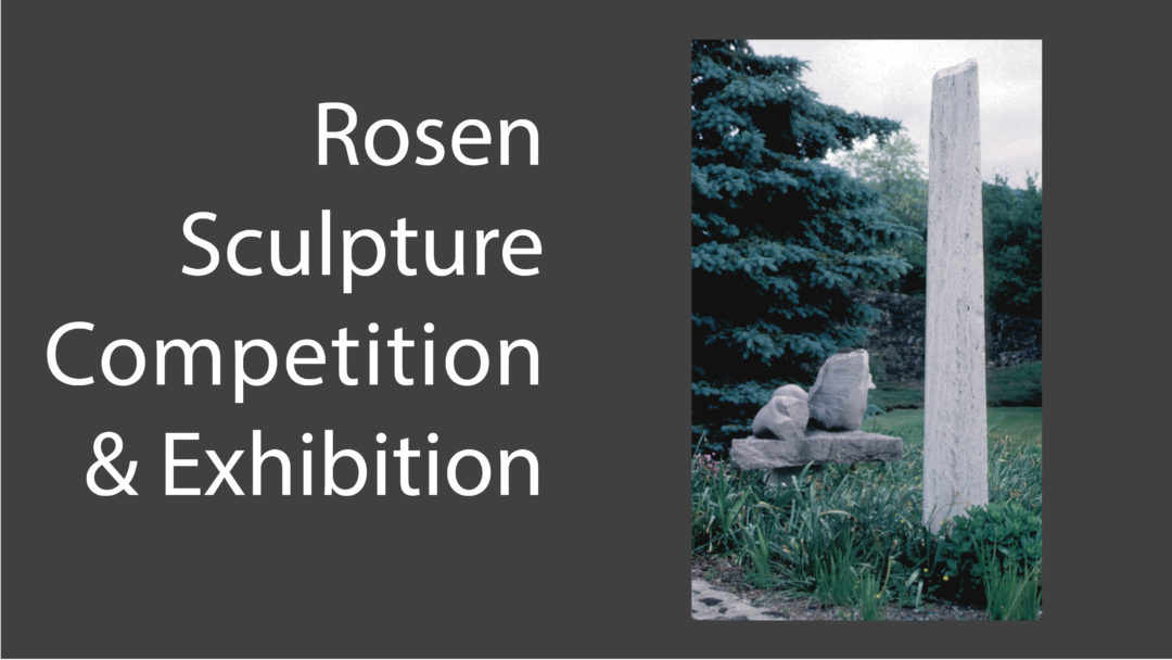 3rd Rosen Outdoor Sculpture Competition & Exhibition