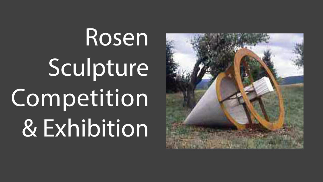 10th Rosen Outdoor Sculpture Competition & Exhibition