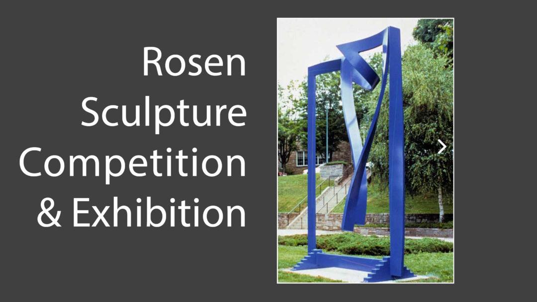 1st Rosen Sculpture Competition & Exhibition