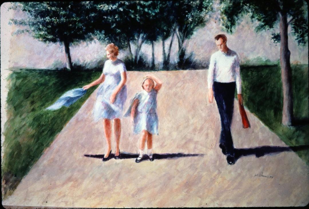 Father, Grandfather, Artist: A Tribute to Warren Dennis